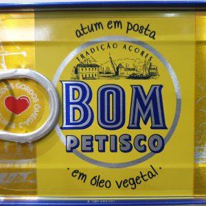 Atum Em Oleo Vegetal Bom Petisco
