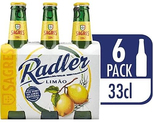 Cerveja Sagres Radler