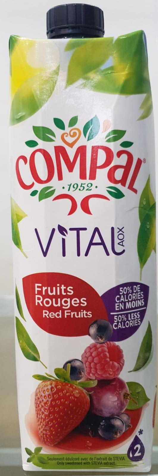 Compal Vital Frutos Vermelhos
