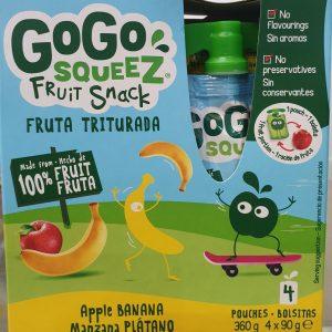 Gogo Squeez Maça Banana