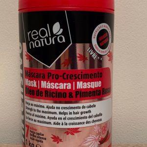 Realnatura Mascara Pro Crescimento Oleo Ricino E Pimenta Rosa