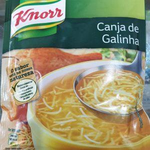 Sopa Canja De Galinha Knorr