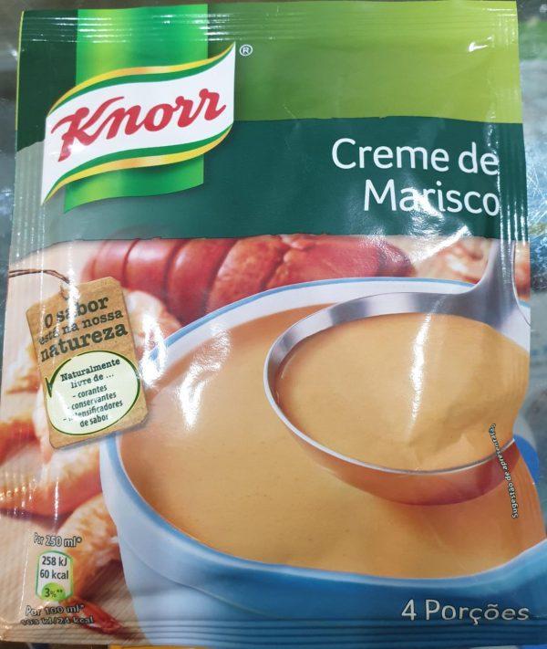 Sopa Creme De Marisco Knorr